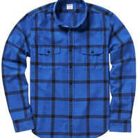 Fieldhouse Flannel Slim - Blue