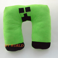 Unisex Minecraft Creeper U Style Pillow for Men Lady Children Best Christmas Gift Same Day Free Shipping