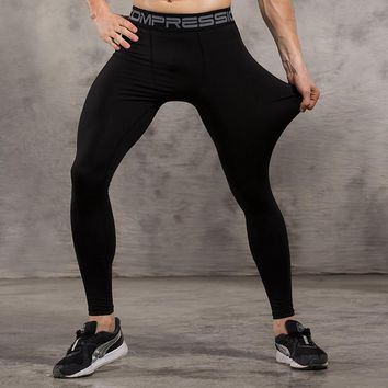 Bodybuilding Spandex Jogger Tights Pants