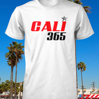 California Shirt Cali Tee I Love CA Los Angeles Hollywood Malibu Beach Surf Skate Snowboard Men Guys Youth Ladies Womens Fitted S M L XL 2XL