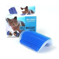 Cat Self Groomer with Catnip, Perfect Massager Tool