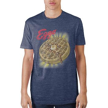 Kellogs Eggo Waffle Glow In The Dark Printed T-Shirt