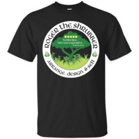 RICK AND MORTY - ROGER THE SHRUBBER T SHIRT