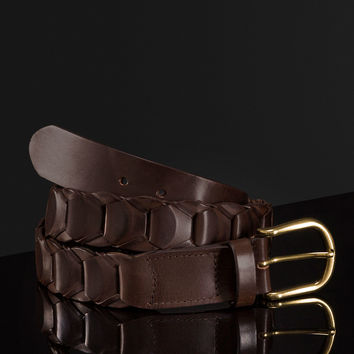 PLAITED BELT LIMITED EDITION - NYC Limited Edition - Accessories - MEN - United States of America / Estados Unidos de América