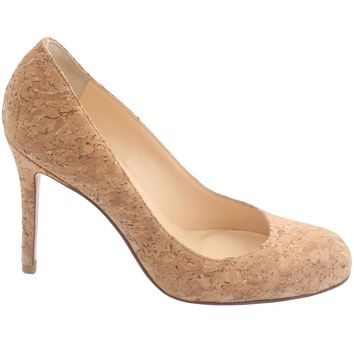Christian Louboutin Cork Heels - Beauty Ticks