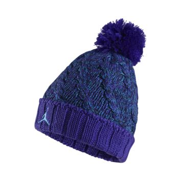 Jordan Jumpman Cable Knit Hat, by Nike (Blue)