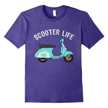 Classic Scooter- Motorbike- Moped Vintage Shirt