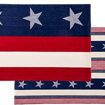 Primitives by Kathy Reversible Americana Placemats (Set/4)