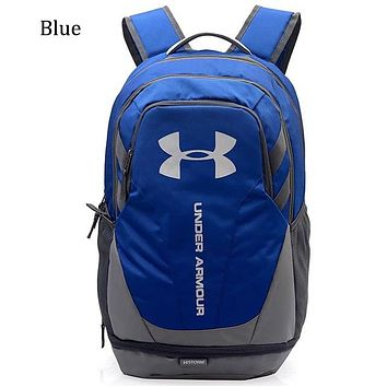 Under Armour Men's and Women's Basketball Training Bag Backpack Fitness Bag F0676-1 blue
