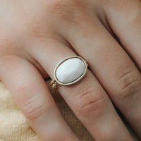 FOND OF YOU RING - IVORY
