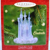 2001 Cinderella's Castle Hallmark Retired Disney Ornament