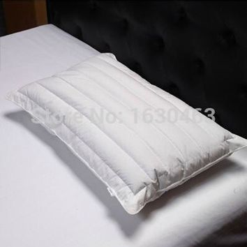 100% Cotton Microfiber and Buckwheat Pillow Fiber Pillow  Neck Health Care For Home and Hotel 48*74cm 800g