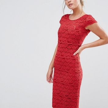 Body Frock Jasmine Sculpting Lace Dress at asos.com
