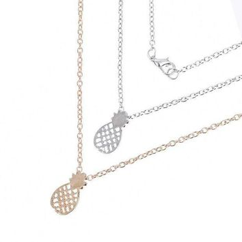 ONETOW Pineapple Necklace