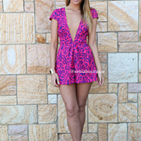 TOMORROW LAND PLAYSUIT , DRESSES, TOPS, BOTTOMS, JACKETS & JUMPERS, ACCESSORIES, 50% OFF SALE, PRE ORDER, NEW ARRIVALS, PLAYSUIT, COLOUR, GIFT VOUCHER, LONG SLEEVES,,Pink,Print,Purple,JUMPSUIT,SHORT SLEEVE Australia, Queensland, Brisbane