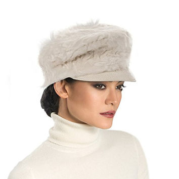 Eric Javits Designer Women's Head-wear Persian Cap Hat (Off White)