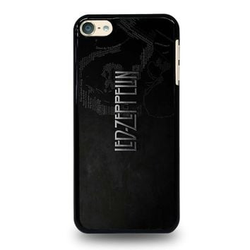LED ZEPPELIN LYRIC iPod Touch 6 Case Cover