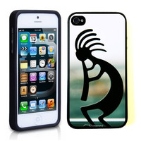 iPhone 5 5S Case ThinShell TPU Case Protective iPhone 5 5S Case Shawnex Kokopelli photo