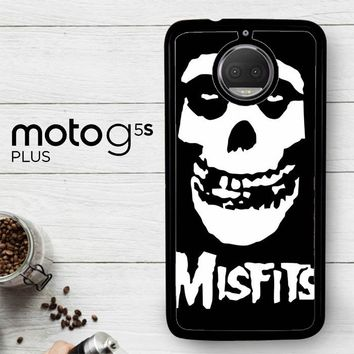 Horror Punk Rock Band Misfits Skull Z0506  Motorola Moto G5S Plus Case