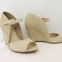 Tan One Particular Harbor Wedge - $49.00 | Daily Chic Shoes | International Shipping