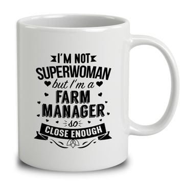 I'm Not Superwoman But I'm A Farm Manager
