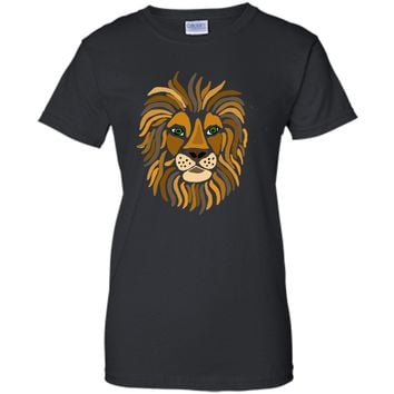 Sexy Cool Funky Artistic Lion Abstract Art 2017 T Shirt
