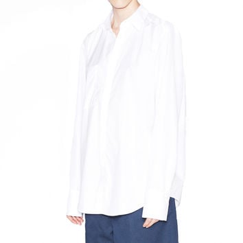 Acne Studios Addle Poplin White Button Up Shirt