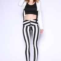 Striped Highwaisted Leggings
