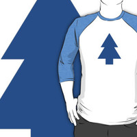 Dipper Pines Tree Shape // Gravity Falls by hocapontas