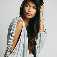 Free People Womens Wild Wind Solid Top