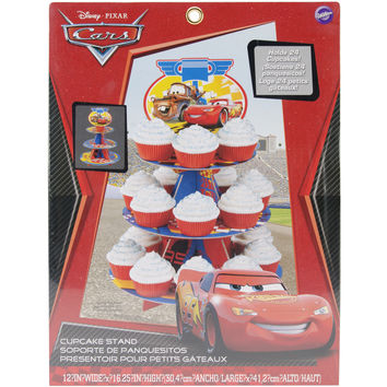 """Treat Stand-Cars 12""""""""X16.25"""""""" Holds 24 Cupcakes"""