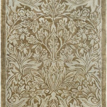 Surya Fitzgerald Arts and Crafts Green FGD-1001 Area Rug