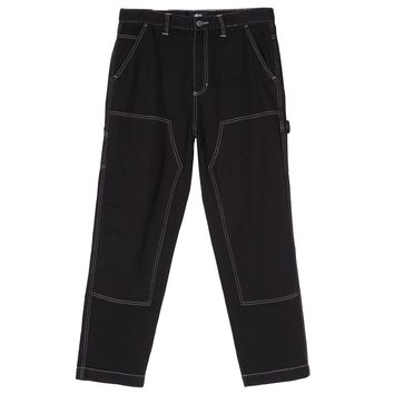 Overdyed Work Pant in Black