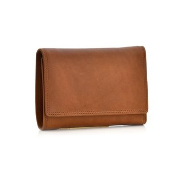 300799-CG Ladies Trifold Snap Button Leather Wallet | Style n Craft