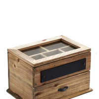 ModCloth Rustic For Your Viewing Treasure Jewelry Box