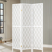 "Wildon Home ® 70"" x 52"" 3 Panel Room Divider"