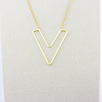 Stylish New Arrival Shiny Gift Accessory Fashion Jewelry Geometric Pendant Sweater Chain Necklace [4956854980]