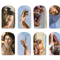 Sistine Chapel Nail Decals