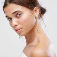 Johnny Loves Rosie Star & Moon Statement Earrings at asos.com