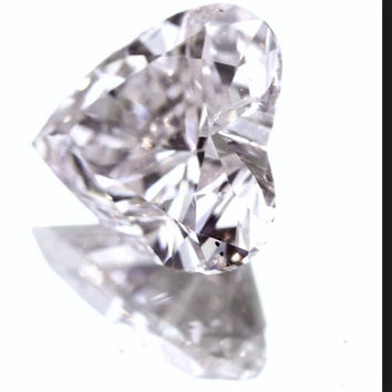 0.51ct Pink VS1 Heart shape Loose Diamond  GIA certified JEWELFORME BLUE