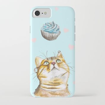 Cat Lover Cake iPhone & iPod Case by lostanaw