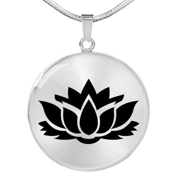 Lotus Flower - Luxury Necklace