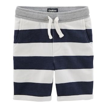 Toddler Boy OshKosh B'gosh® Striped Slouch Knit Shorts | null