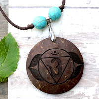 Awareness Chakra Pendant Necklace