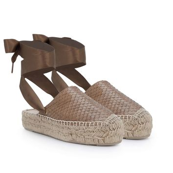 Inna Lace-Up Espadrille