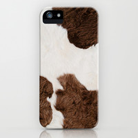 Cow Texture iPhone & iPod Case by cafelab