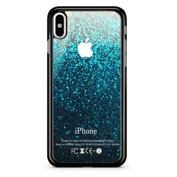 Water Glitter iPhone X Case
