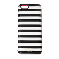 Kate Spade New York Micro Stripe Resin Charging Case for iPhone® 6