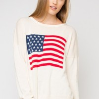LUNA AMERICAN FLAG SWEATER