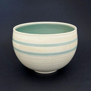 Porcelain bowl, turquoise bowl, ceramic bowl, handmade, pottery bowl, turquoise ceramic bowl